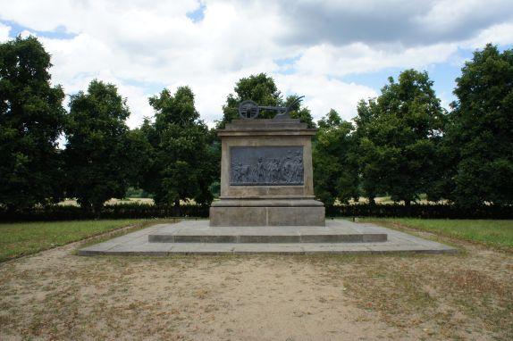 Stadice - pomník Přemysla Oráče